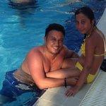 Kızımla Havuz Kenarında