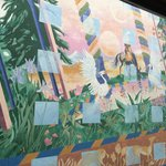 Inner view mural