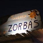 Zorbas at Night