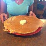 giant pancake!