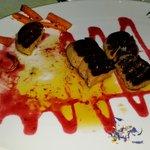 foie gras grillé qui baigne dans l'huile