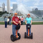 on the Segways in Chicago