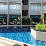 piscine accès chambre