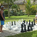 my boys playing chess