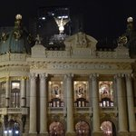 The Theatro Municipal at Night