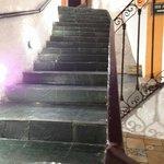 parte da escada