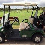 Golf cart all ready to go
