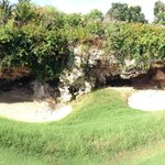 Awesome cave on the course