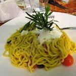 """Spaghetti alla Chitarra """"Tricolori"""""""