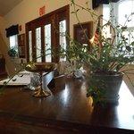 Main entry desk of Cabernet Inn