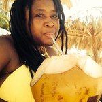 Must have-- fresh chilled coconut water on the beach