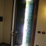 Light excluding door shutters