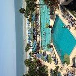 Pool area and Cabana bar