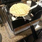 Freshly made Waffle