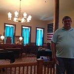 Judge Parker's Courtroom.