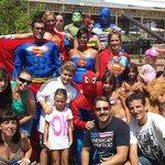Fiesta super heroes.