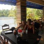 Friends at Cenote Azul