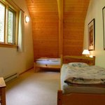 2 single beds in second bedroom, cottage Iris