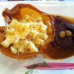 Steak au poivre con papa a la crema
