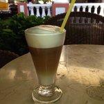 Caffee late at lobby bar
