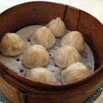 Shanghai dumplings (soup inside)