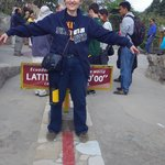 On the Equator. Great trip!