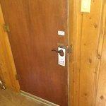 Door of room