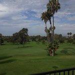Vista do hotel - Campo de Golf