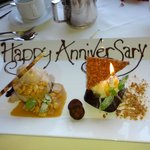 Our Anniversay desserts!