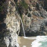 Closeup of McWay Falls
