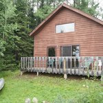 Cabin #4 plus canoe