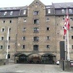 Copenhagen Admiral Hotel, Front of hotel