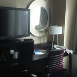 The TV in the room