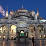 A five minute walk from the Blue Mosque.