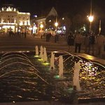 Fountains infront of the Opera