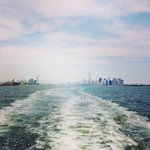 Amazing views of NY from the ferry