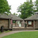 Miners Castle Information Center, here complete with a very kind Ranger Pictured Rocks NLS Augus