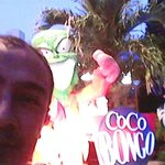 Levi Freire Jr no Coco Bongo cancun