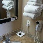 Lavandino e asciugamani
