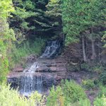 Alger Falls Hiawatha National Forest south of Musining MI August 2014 IMG_0008