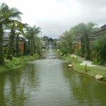Palm Villas looking toward Reception Area