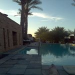 Sunset at the pool....
