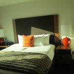 5th floor room bed