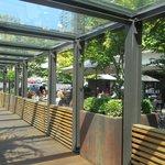 Outside lounge/patio