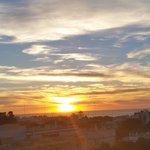puesta de sol desde H.  Guadalquivir