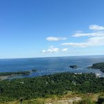 View from the top of Mt Battie.