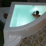 Outdoor Jacuzzi - Villa Thalia