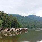 寧靜的湖泊