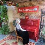 Entrance to La Garenne