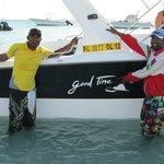 Jabe et Zel de chez Good Time excursions en mer